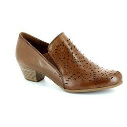 Tamaris Heeled Shoes - Tan - 24310/361 OCIMUMRI