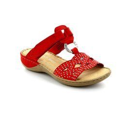 Marco Tozzi Sandals - Red - 27501/533 TANGOVEL 61