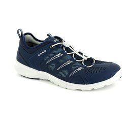 ECCO Trainers & Canvas - Navy - 841034/58933 TERRACRU