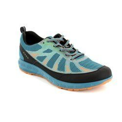 ECCO Trainers & Canvas - Petrol blue - 803504/59427 TERRATRAIL
