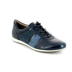 ECCO Everyday Shoes - Navy multi - 265003/54055 SNEAKER TOUCH