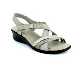 ECCO Sandals - Light taupe multi - 216513/55294 FELISAN