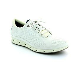 ECCO Everyday Shoes - White - 831303/01007 EXHALE GORE-TEX SURROUND
