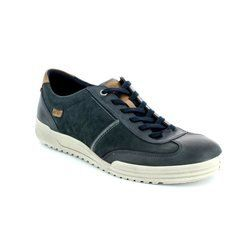 ECCO Shoes - Navy/tan - 539534/53579 FRASER 61