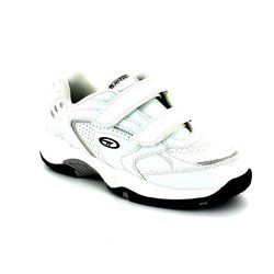 Hi-Tec Trainers & Canvas - White - 4415/01 BLAST EZ VELCR
