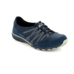 Skechers Everyday Shoes - Navy Grey combi - 22551/70 HOLDING ACES M