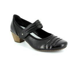 Rieker Heeled Shoes - Black - 41733-00 SINARU