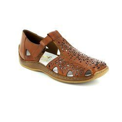 Rieker Everyday Shoes - Tan - L1788-22 CELIAT