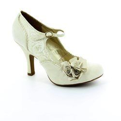 Ruby Shoo Heeled Shoes - Cream - 0870/95 EMILY