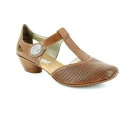 Rieker Everyday Shoes - Tan - 43730-22 MIRTIP