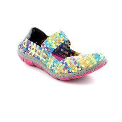Adesso Trainers & Canvas - Tutti Fruiti combi - A3202/55 LOTTIE
