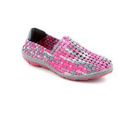 Adesso Trainers & Canvas - Pink multi - A3206/60 LAYLA