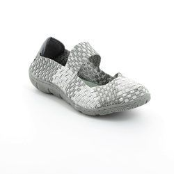 Adesso Trainers & Canvas - Silver - A3203/00 LOTTIE