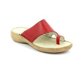 Marco Tozzi Sandals - Red - 27900/533 OCETTO