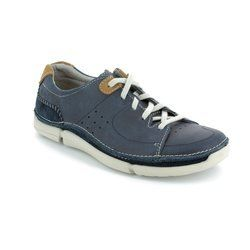 Clarks Shoes - Navy - 1510/77G TRIKEYON MIX