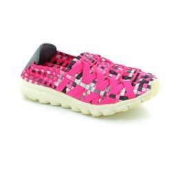 Adesso Trainers & Canvas - Pink multi - A3214/60 DANNI
