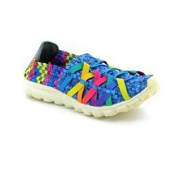 Adesso Trainers & Canvas - Blue multi - A3213/70 DANNI