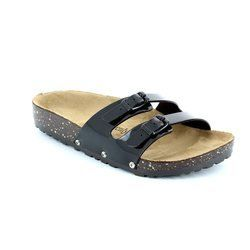 Heavenly Feet Sandals - Black - 5002/30 SANDY 61