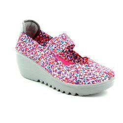 Heavenly Feet Trainers & Canvas - Pink multi - 5000/60 RAINBOW