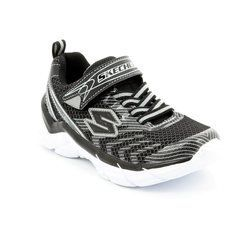 Skechers Boys Shoes - Black-Silver - 95240/30 RIVE