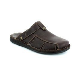 Walk in the City Slippers & Mules - Brown - 2307/35200 SWIVEL