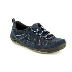 Earth Spirit Everyday Shoes - Navy - 21020/70 ATLANTA 61