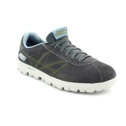 Skechers Trainers & Canvas - Charcoal - 53722/20 HARBOR