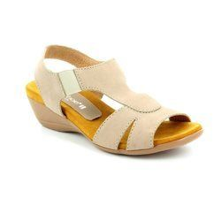 Relaxshoe Sandals - Taupe nubuck - 104107/50 HONESTLY