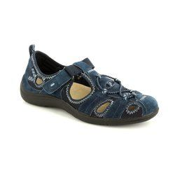 Earth Spirit Everyday Shoes - Navy - 21009/70 WICHITA 52