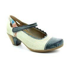 Remonte Heeled Shoes - Blue multi - D1207-80 BARTANG