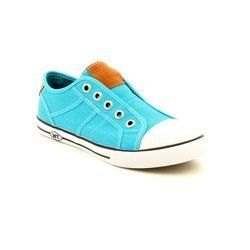 Marco Tozzi Trainers & Canvas - Turquoise - 23629/856 ANKERTANG