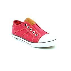 Marco Tozzi Trainers & Canvas - Dark Red - 23629/559 ANKERTANG