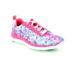 Skechers Trainers & Canvas - Pink - 12444/60 FLEX APPEAL MF