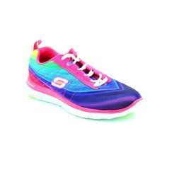 Skechers Trainers & Canvas - Pink - 12067/79 DEMI PRETTY MF