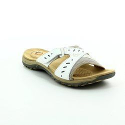 Earth Spirit Sandals - White - 00196/26 INDIANA