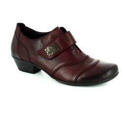 Remonte Heeled Shoes - Wine - D7347-35 MILLWALL
