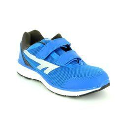 Hi-Tec Boys Trainers & Canvas - Blue - 5035/31 PAJO EZ VELCRO