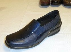 Padders Everyday Shoes - Navy patent - 0223/96 SKYE  E-EE FIT