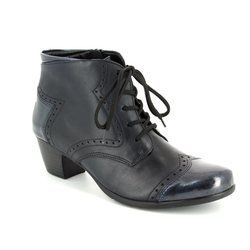 Remonte Boots - Short - Navy patent - R9170-14 MURLACE