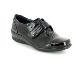 Padders Everyday Shoes - Black patent - 0200/60 SIMONE E-EE