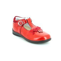 Ricosta Girls 1st Shoes & Prewalkers - Red patent - 21210/350 WINSY