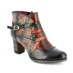 Laura Vita Boots - Short - Black multi - 2001/30 ANGELA 02 NOIR