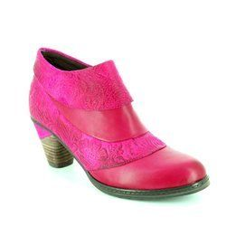 Laura Vita Heeled Shoes - Fuchsia - 2008/80 ALIZIE 04 WINE