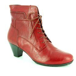 Gabor Boots - Short - Dark Red - 55.644.55 NATIONAL