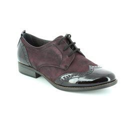 Tamaris Everyday Shoes - Aubergine - 23202/549 MALIKA