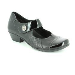 Remonte Heeled Shoes - Black - D7346-02 MILLBASS