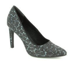 Marco Tozzi Heeled Shoes - Black multi - 22405/098 METATOS