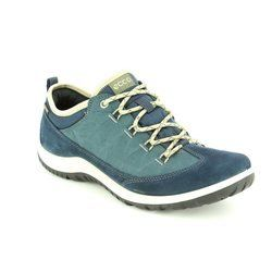ECCO Everyday Shoes - Blue - 838523/50595 ASPINA GORE-TEX
