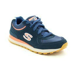 Skechers Trainers & Canvas - Blue - 00142/701 RETROS OG 82