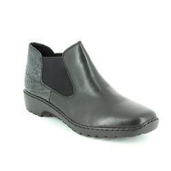 Rieker Boots - Ankle - Black - 56090-00 AMBICOLO 12